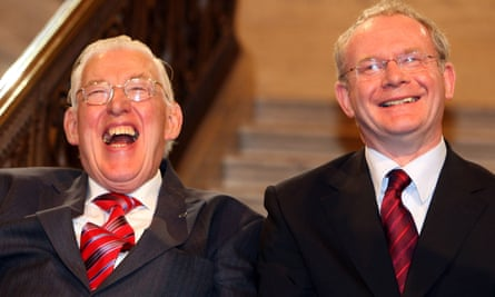 Ian Paisley and Martin McGuinness  in 2007.