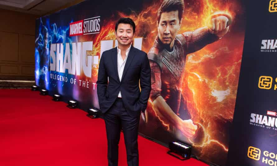 Not good-looking enough to play a Chinese hero? Simu Liu at the Canadian premiere of Shang-Chi and the Legend of the Ten Rings.