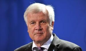 Bavaria's leader, Horst Seehofer