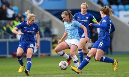Manchester City were top of the Women's Super League when the season was called to a halt, with Chelsea awarded the title on a points-per-game basis.