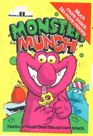 Michael MacLeod designed the packet for Monster Munch