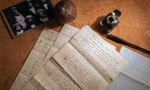 The handwritten 'Laws of Baseball'