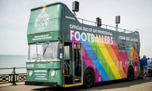 The Paddy Power open-top bus at Brighton Pride.