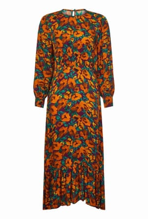 Floral dress, £169, ghost.co.uk