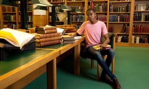Taymah Anderson, photographed at the British Library, London.