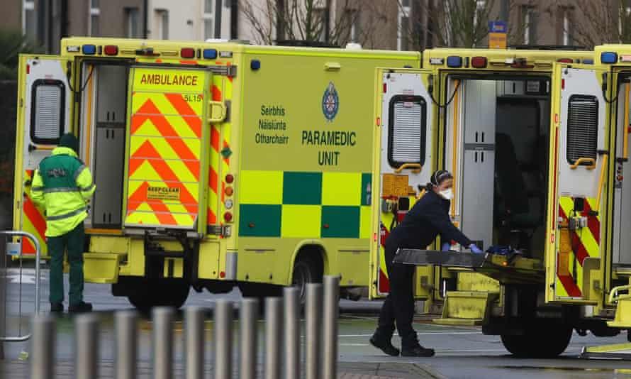 Irish ambulances