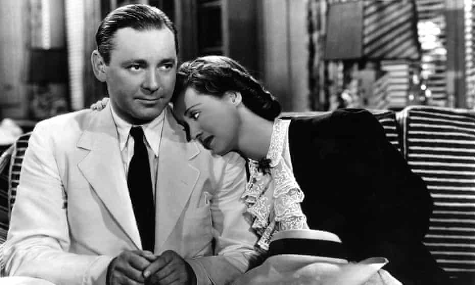 Bette Davis with Herbert Marshall in The Letter