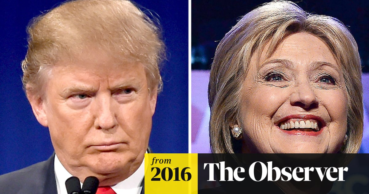 33c1e3ef Hillary Clinton v Donald Trump: the looming battle for the soul of America.  This article is more than ...