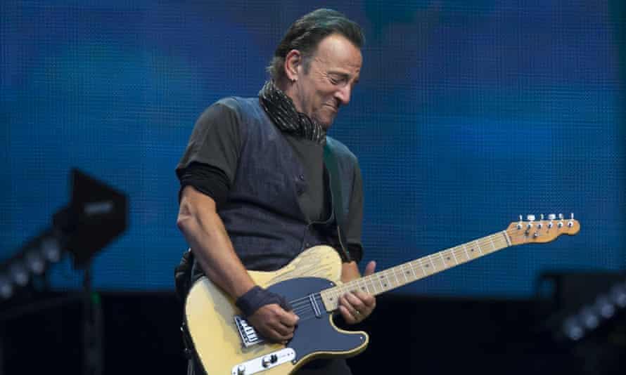 Bruce Springsteen the Etihad Stadium, Manchester.