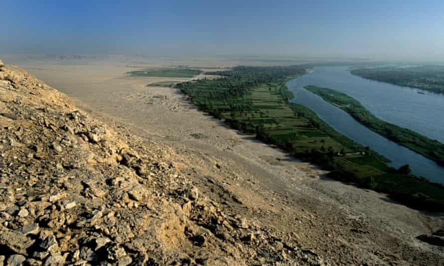 The ruins of Amarna.