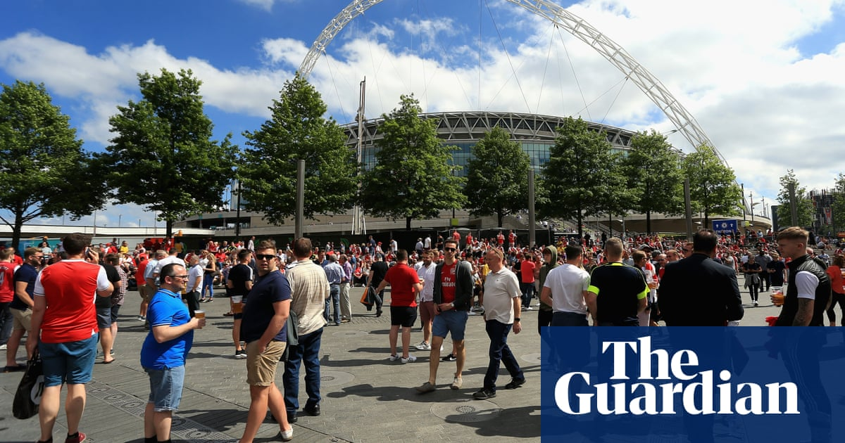 FA 'delighted' Wembley will host pilot events for 'Covid status certification'