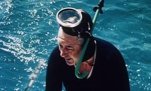 Former Australian prime minister Harold Holt