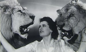 Sonya Allen, the Lady of Lions, in The Show of Shows.