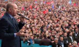 Turkey president, Recep Tayyip Erdoğan