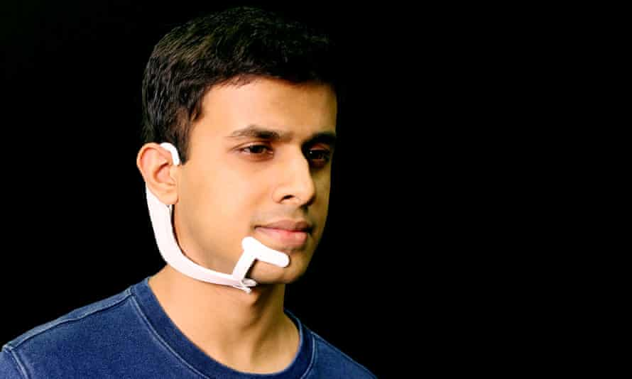 MIT's AlterEgo headset can 'hear' internalised voices and speak to the user through a bone-conduction system.