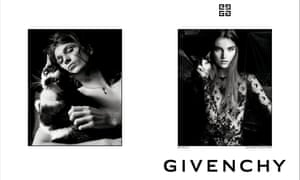 Meghan Roche & Kolton Bowen in the new Givenchy campaign.