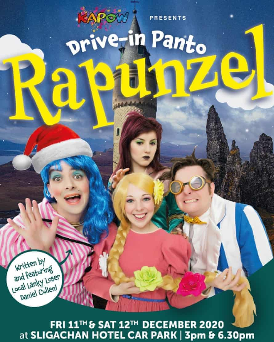 Poster for the Rapunzel panto