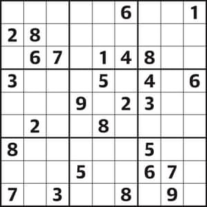 Sudoku 4,727 hard