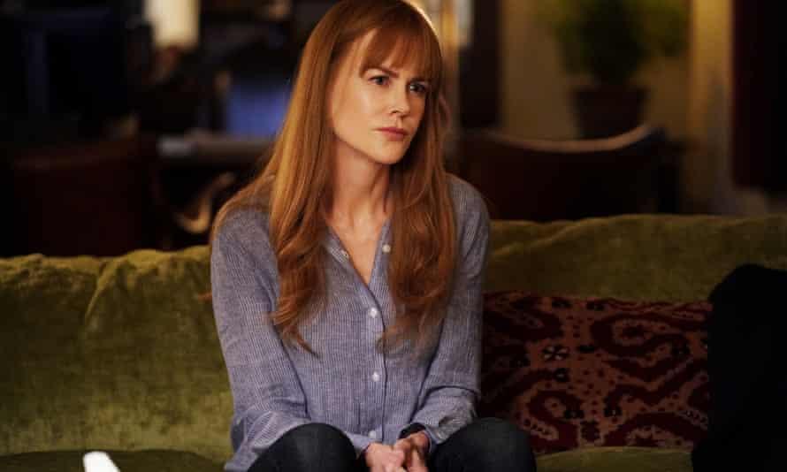 Sceptical ... Celeste (Nicole Kidman)