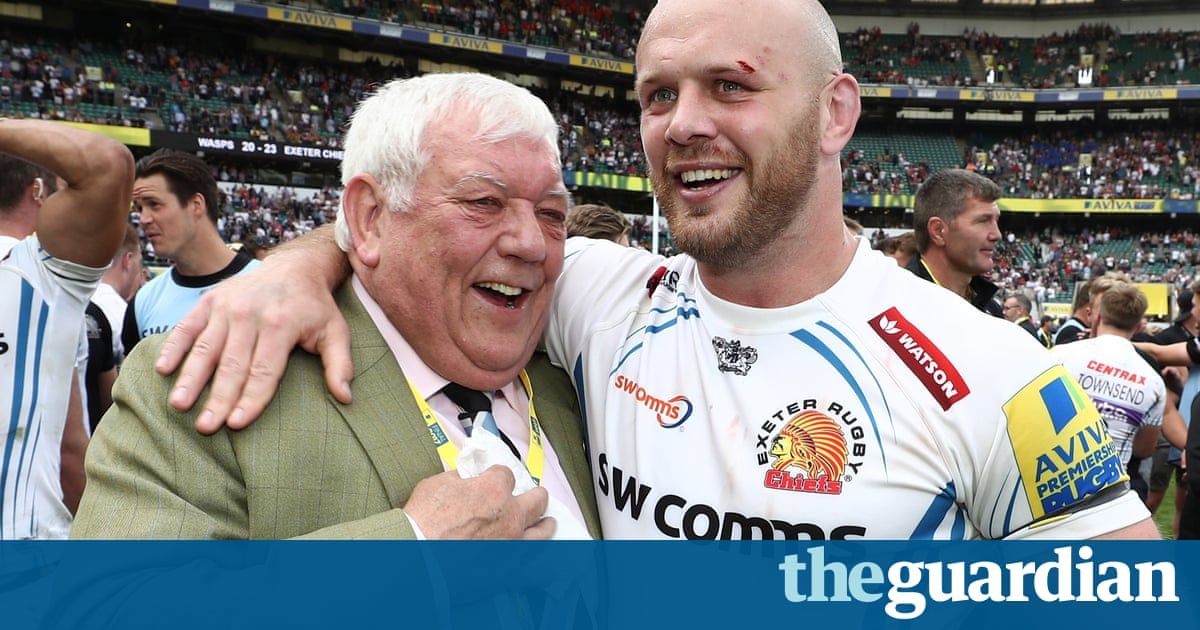 Exeter and Tony Rowe make it their priority to become Chiefs of Europe | Robert Kitson