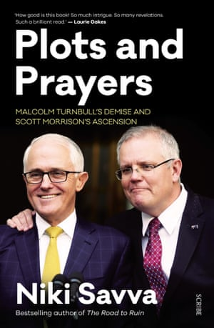 Cover image for Plots and Prayers by Niki Savva
