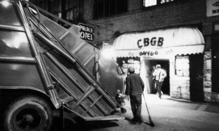 4am at CBGB's, 1977.