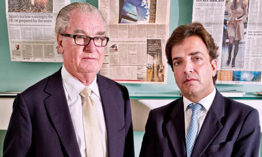 Lord Bell and James Henderson, both of whom left Bell Pottinger