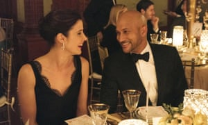 Cobie Smulders and Keegan-Michael Key in Friends From College.