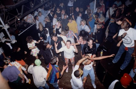 An acid house night at Heaven in London during the 'summer of rave' in 1998