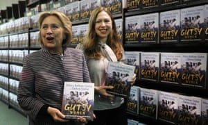 Hillary and Chelsea Clinton promote The Book of Gutsy Women