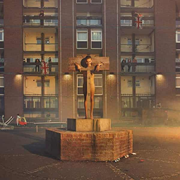 The artwork for Slowthai's album Nothing Great About Britain.