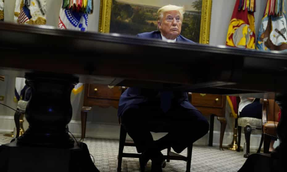 Donald Trump touts his wall on the Mexican border almost daily and emphasizes national borders, even though the coronavirus paid them no heed.