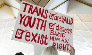 A sign in favor of repealing North Carolina HB2, which bans transgender people from using the bathroom of their choice, during a special session of the North Carolina general assembly.