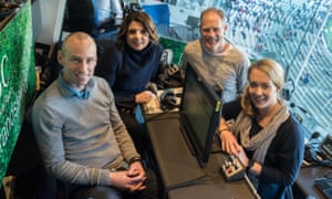 The ABC Grandstand commentary team