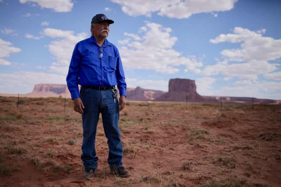 Navajo county commissioner candidate Willie Grayeyes.
