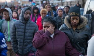chicago police shooting protest