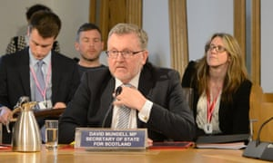 David Mundell, secretary of state for Scotland in the UK government