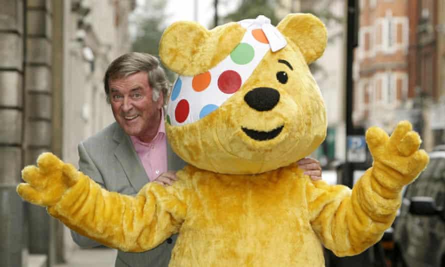 Sir Terry Wogan and Pudsey Bear