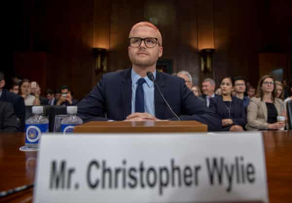 Wylie testifies before the Senate judiciary committee, Washington DC, May 2018.