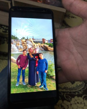 Ustad Ahmad family for Mosul ferry disaster