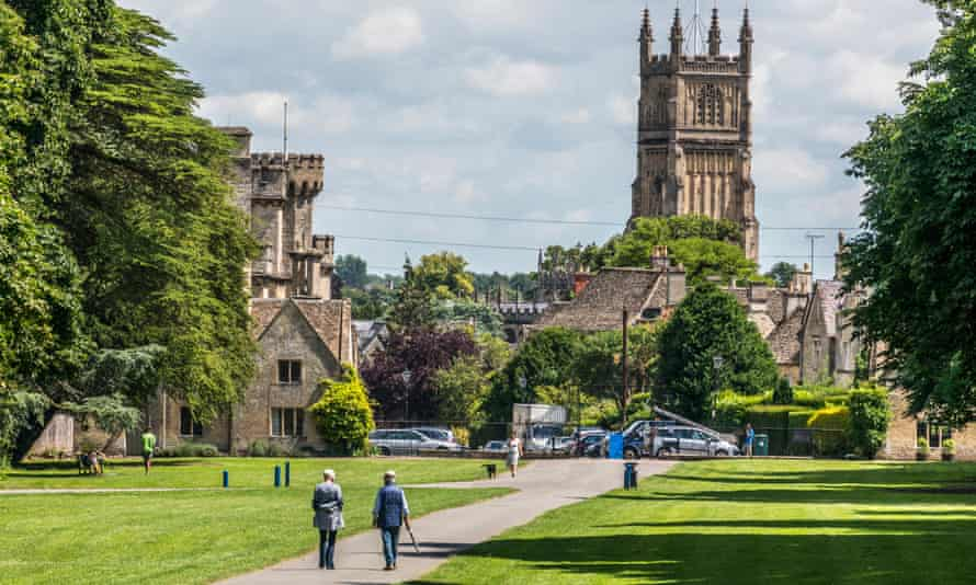 English idyll: Cirencester, Gloucestershire.