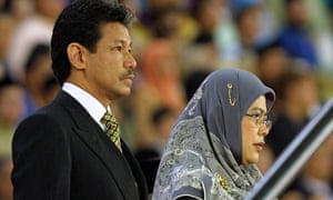 Prince Jefri Bolkiah, brother of the Sultan of Brunei, in 2004