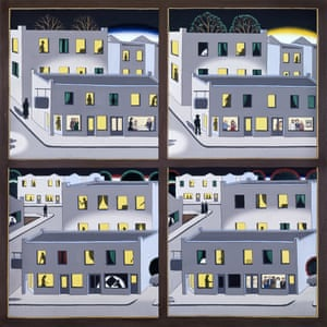 Roger Brown, The Four Seasons – A Benefit Painting of the Hyde Park Art Center, 1974.