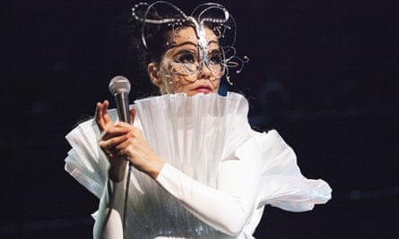 Bjork onstage at Royal Albert Hall