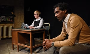 Theatre as shock, therapy and survival … Julie Hesmondhalgh and Lemn Sissay in The Report.
