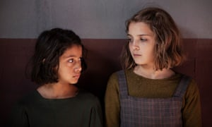 Remarkable performers ... Ludovica Nasti (left) and Elisa del Genio in My Brilliant Friend.