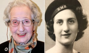 Marie Scott composite, photos taken in 2019 and during the second world war