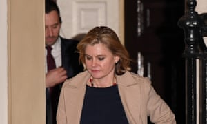 British Prime Minister Reshuffles Her CabinetLONDON, ENGLAND - JANUARY 08: Justine Greening leaves 10 Downing Street after resigning from the position of Secretary of State for Education as Prime Minister Theresa May reshuffles her cabinet on January 8, 2018 in London, England. Today's Cabinet reshuffle is Theresa May's third since becoming Prime Minister in July 2016 and was triggered after she sacked first secretary of state and close friend Damian Green before Christmas. (Photo by Leon Neal/Getty Images)