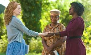 Emma Stone, Octavia Spencer and Viola Davis in The Help