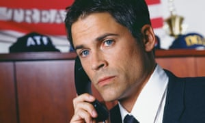 Rob Lowe as Sam Seaborn in The West Wing